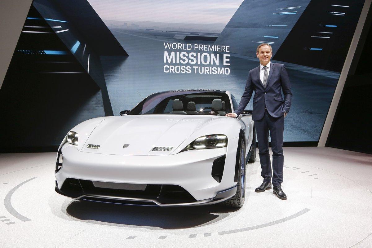 Porsche, Porsche Mission E Cross Turismo, 2018 Geneva Motor Show, concept car, electric car, Taycan, NEDC, NewsMobile, Mobile news India
