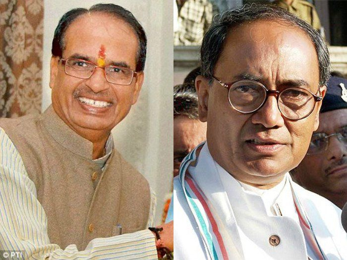 Congress, Digvijaya Singh, challenge, MP, Chief Minister, debate, works, tenures, BJP, Battle For States, NewsMobile, Mobile, News, India, Politics, Elections