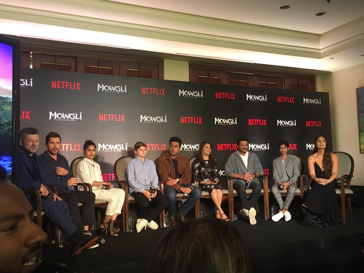 Kareena Kapoor, Anil Kapoor, Frieda Pinto, Abhishek Bachchan, Jackie Shroff Madhuri Dixit, Rohan Chand, Christian Bale, Andy Serkis, Mowgli, Nwtflix, News Mobile, News Mobile India