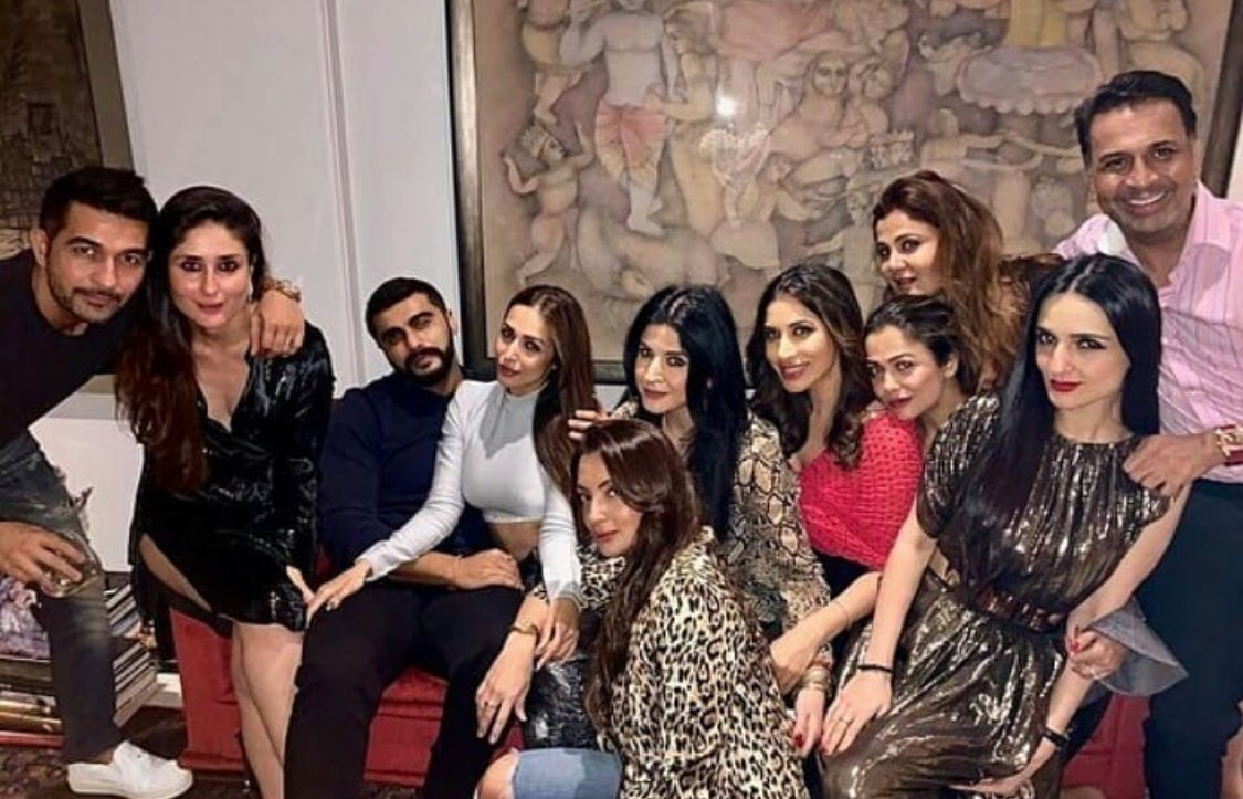 Arjun Kapoor, Malaika Arora, trending, party, rumored, couples, Kareena Kapoor, Mahdeep Kapoor, Sophie Choudry, Seema Khan, News Mobile, News Mobile India