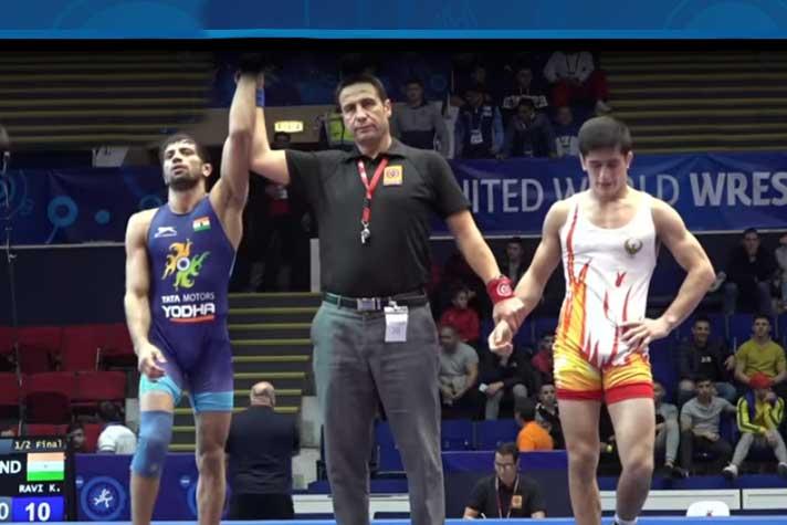 Ravi Kumar, World, Championship, Wrestling, Uzbekistan, Jahongirmirza Turobov, Romania, News Mobile, News Mobile India