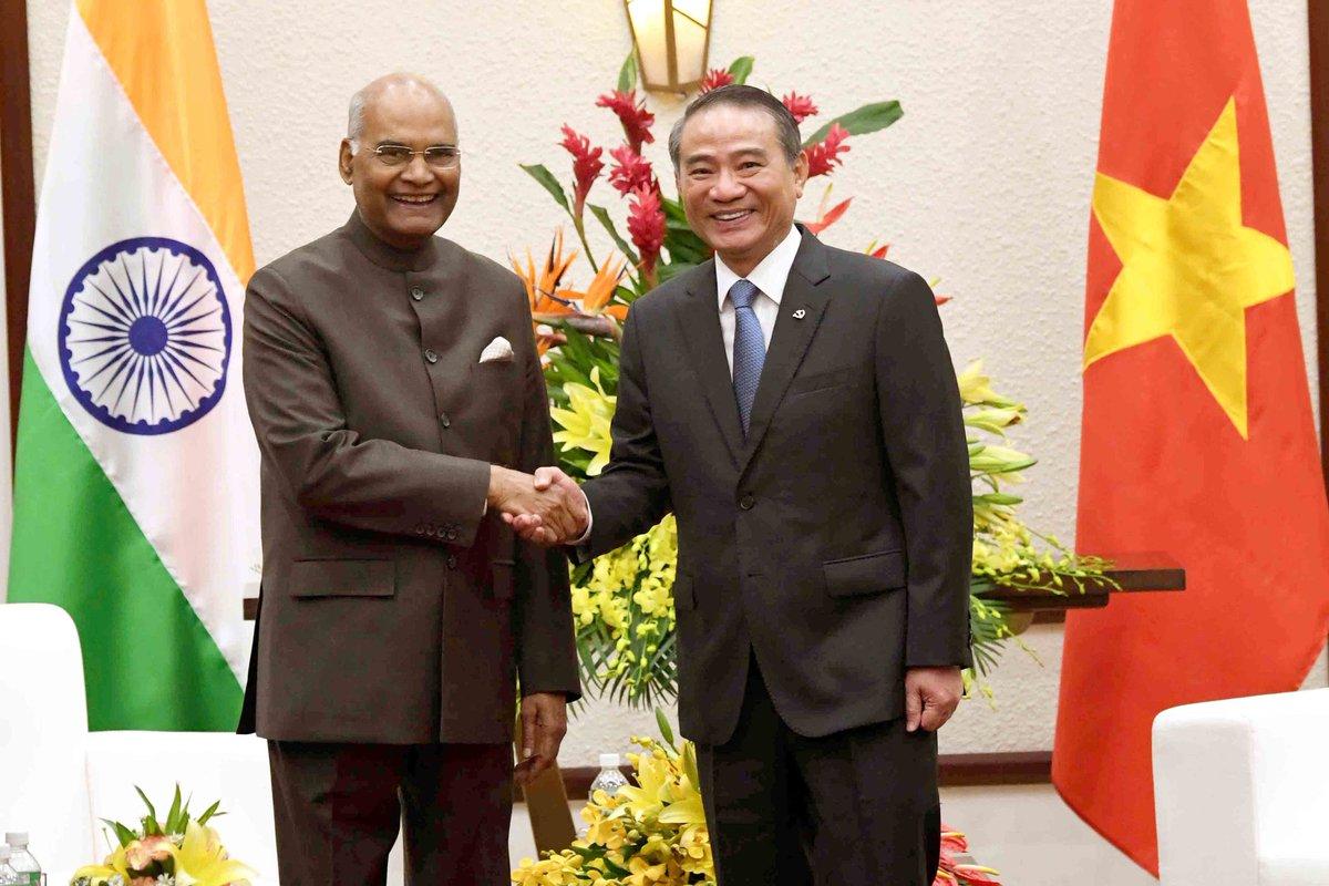 President of India, President Ram Nath Kovind, Vietnam, NewsMobile, Indo-Vietnam ties