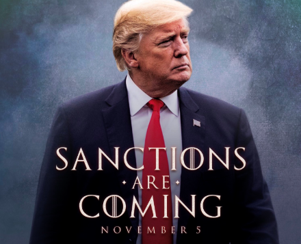 Sanctions are coming, United States, President, Donald Trump, inspired, GoT, Iran, NewsMobile, Mobile, News, World