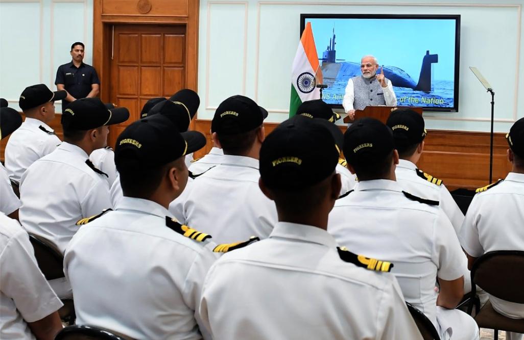 INS Arihant, Navy, Nuclear, Submarine, Prime Minister, Narendra Modi, NewsMobile, Mobile, News, India