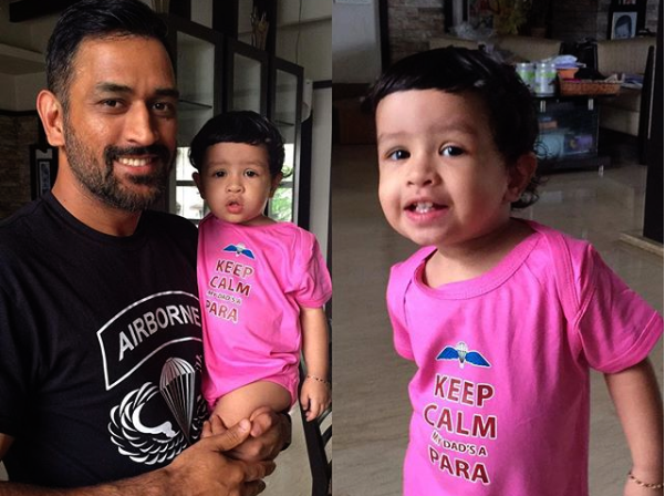 Ziva, MS Dhoni, Cricketer, Bugs Bunny, Video, Sports, NewsMobile, Mobile, News, India