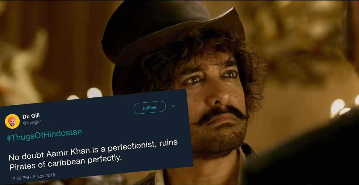 'Thugs of Hindostan' fails at box office but manages to bursts Twiterati of laughter