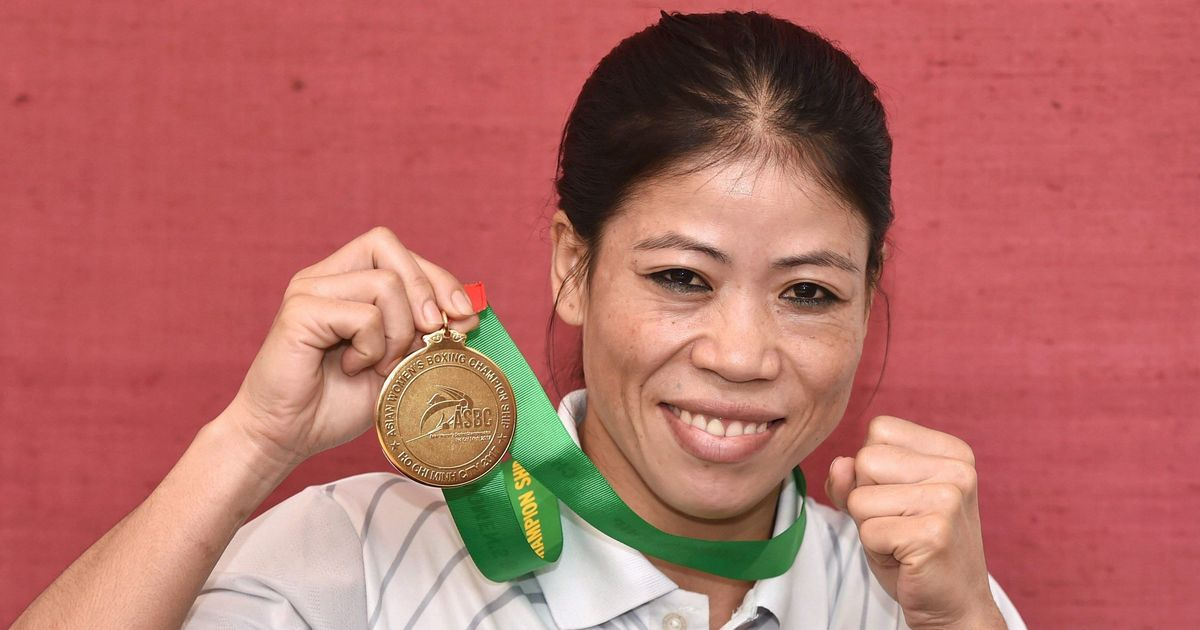 Look what happened when this minister had a boxing match with Mary Kom
