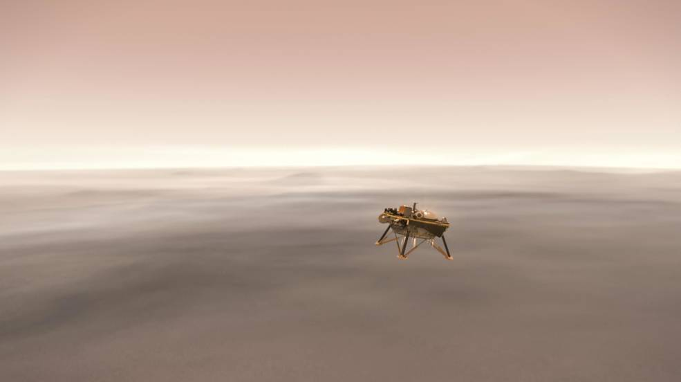 NASA, InSight, InSight spacecraft, Mars, red Planet, landing, Curiosity Rover, NewsMobile, Mobile news India