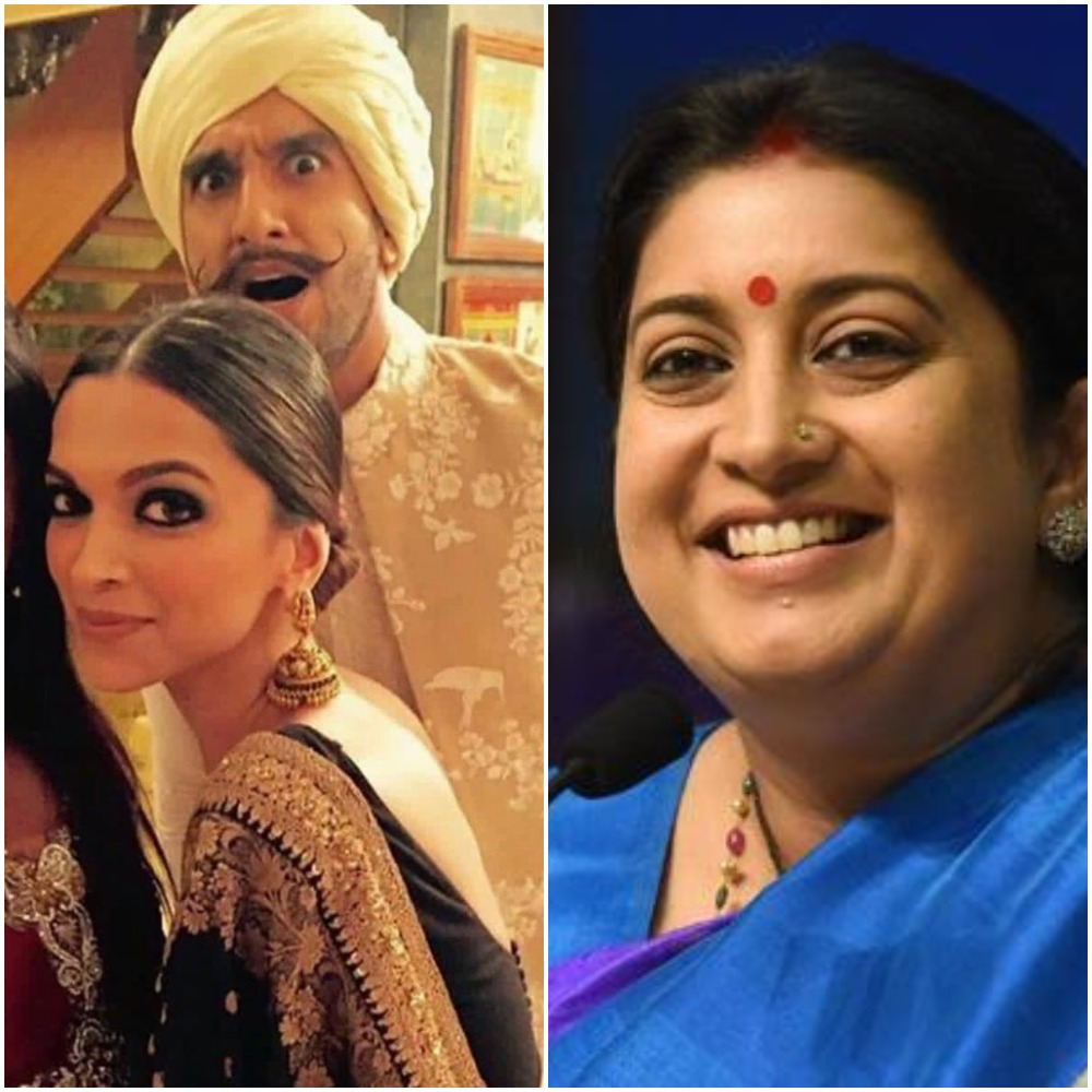Union Minister, Smriti Irani, Meme, Deepika, Ranveer, Bollywood, News Mobile, News Mobile India