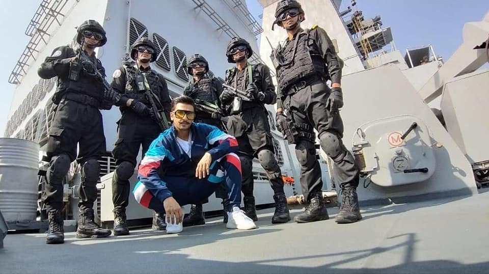 Simmba, meet, Navy, military, sea, vessel, Ship, Indian Navy, Entertainment, NewsMobile, Mobile News, India