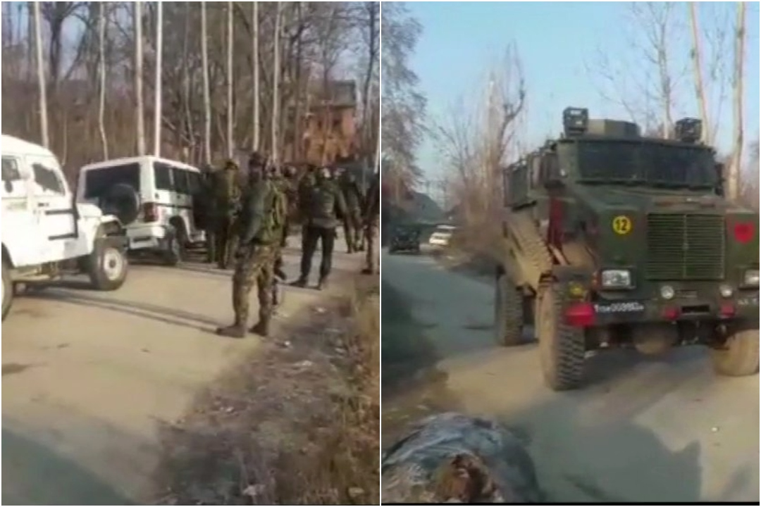 India, Army, neutralise, three, terrorists, Zahoor Thoker, J&K, Jammu and Kashmir, NewsMobile, Mobile, News, India