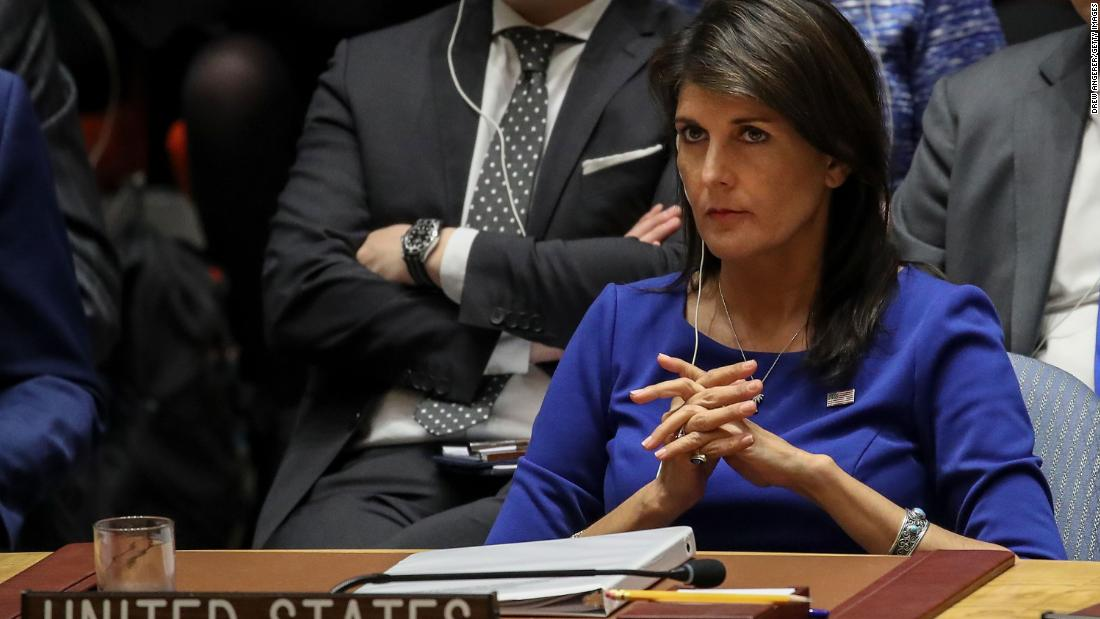 Nikki Haley, US, United States, United Nations, $1, Pakistan, continues, harbour, terrorists, Terrorism, NewsMobile, Mobile, News, India