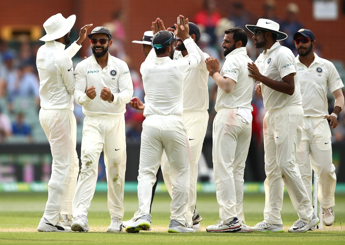 Adelaide, test, Day 4, India, six wickets, creating, history, Oz soil, Australia, NewsMobile, Mobile, News, Sports, Cricket