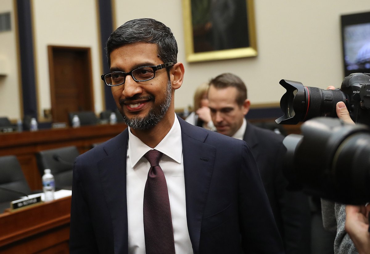 Sundar Pichai, explain, Donald Trump, picture, come up, searching, idiot, Google, NewsMobile, Mobile, News, India