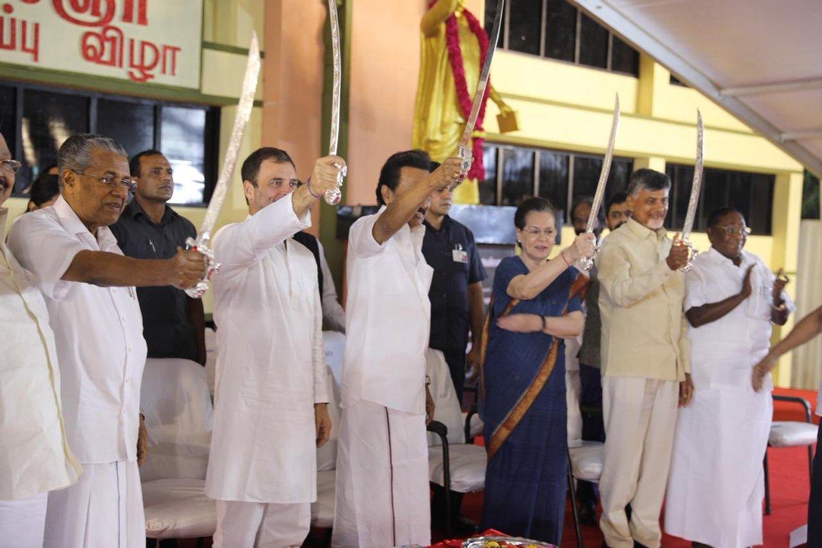 DMK President,MK Stalin, Congress President, Rahul Gandhi, elections 2019, Prime Minister, united opposition