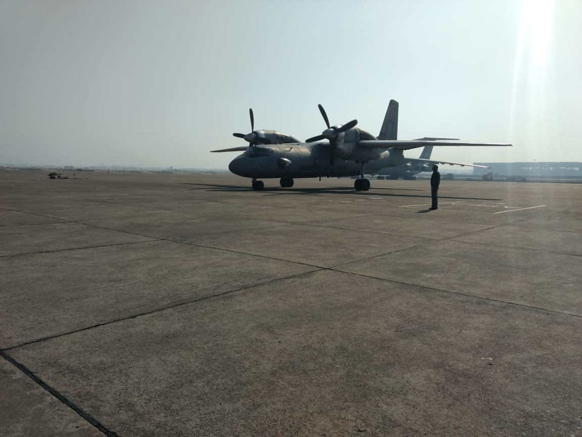 Indian Air Force, took off, India, first, bio-jet fuel, blended, military, flight, NewsMobile, Mobile, News, India