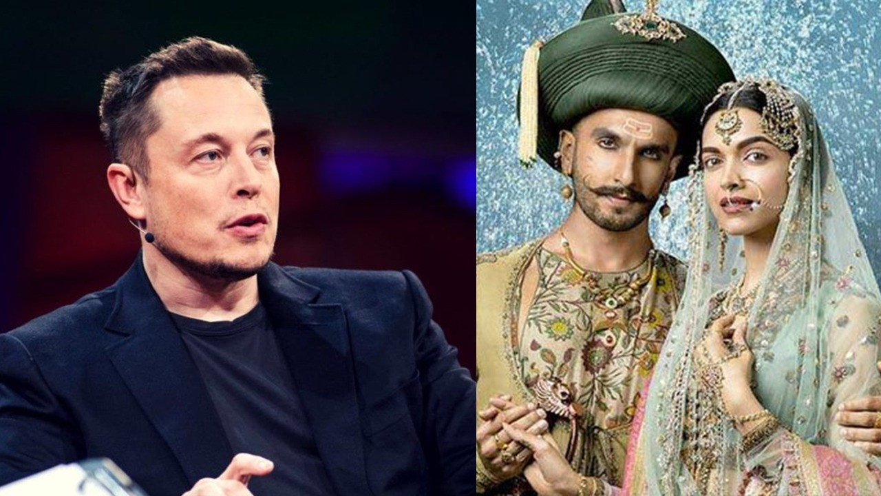 Elon Musk expresses his love for 'Bajirao Mastani' and fans can't keep calm