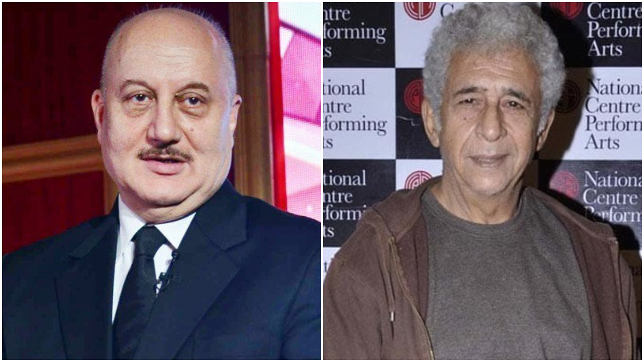Anupam Kher, Naseeruddin Shah, Controversy, News Mobile, News Mobile India