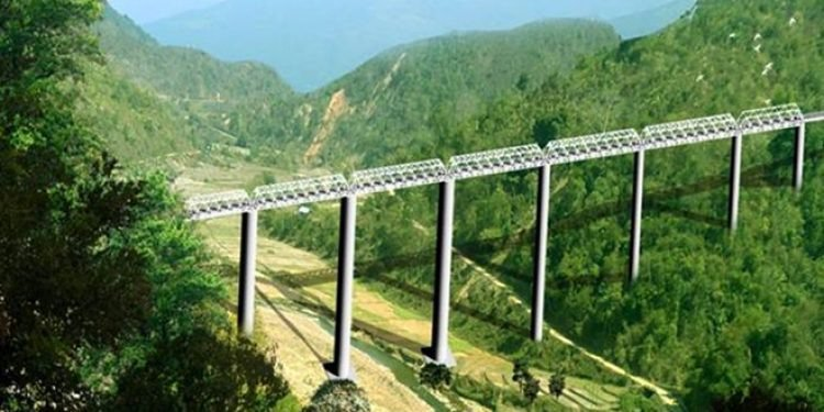 Manipur gets the tallest railway bridge in the world