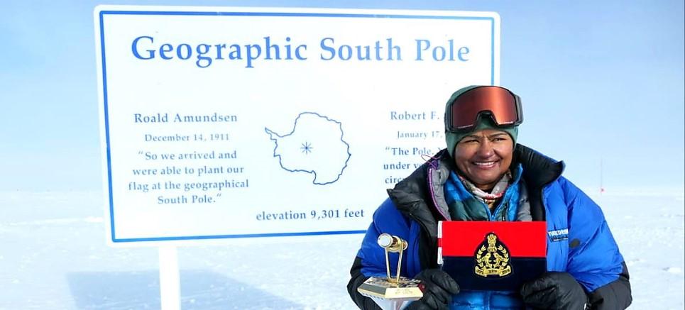 Aparna Kumar, IPS, DIG, ITBP, South Pole, News Mobile, News Mobile India