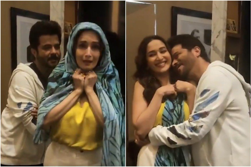 Anil Kapoor, Madhuri Dixit, Ram Lakhan, Total Dhamal, Bollywood, Video, Viral, NewsMobile, Mobile, News, India