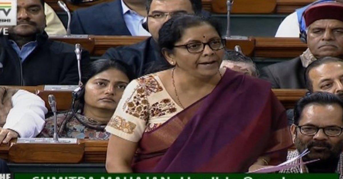 Nirmala Sitharaman, Defence Minister, Parliament, Lok Sabha, India, Rafale, Jet, Deal, Scam, Prime Minister, Narendra Modi, BJP, Government, France, India, NewsMobile, Mobile, News