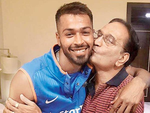 Not so, innocent, Hardik Pandya, father, Himanshu Pandya, controversy, Sports, NewsMobile, Mobile, News, India, KL Rahul, Koffee With Karan, Karan Johar