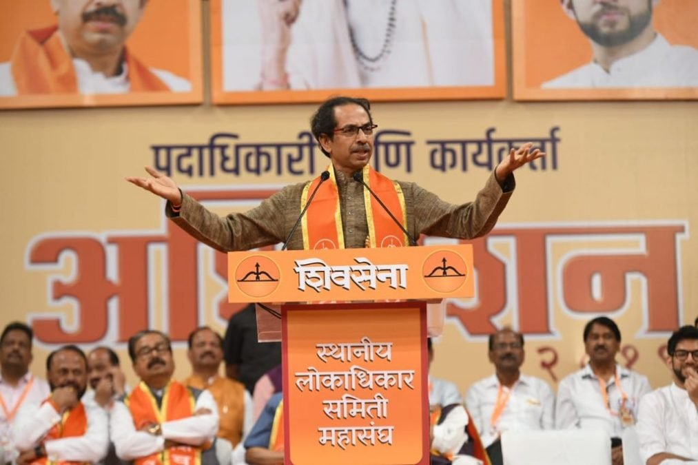 Shiv Sena, born, Uddhav Thackeray, lashes, BJP, Bharatiya Janata Party, NewsMobile, Mobile, News, India, Politics