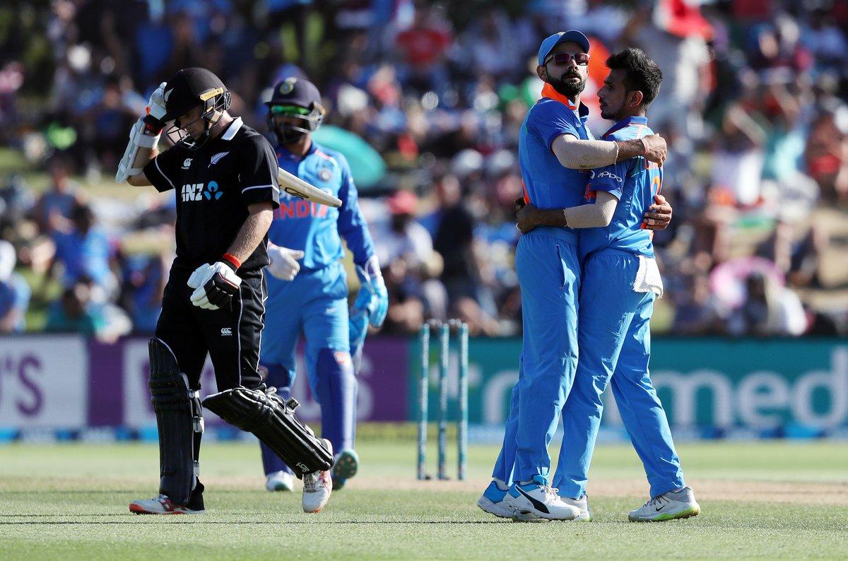Idnia, Hardik Pandya, Cricket, New Zealand, 243, Runs, Virat Kohli, Ross Taylor, NewsMobile, Sports, Mobile, News