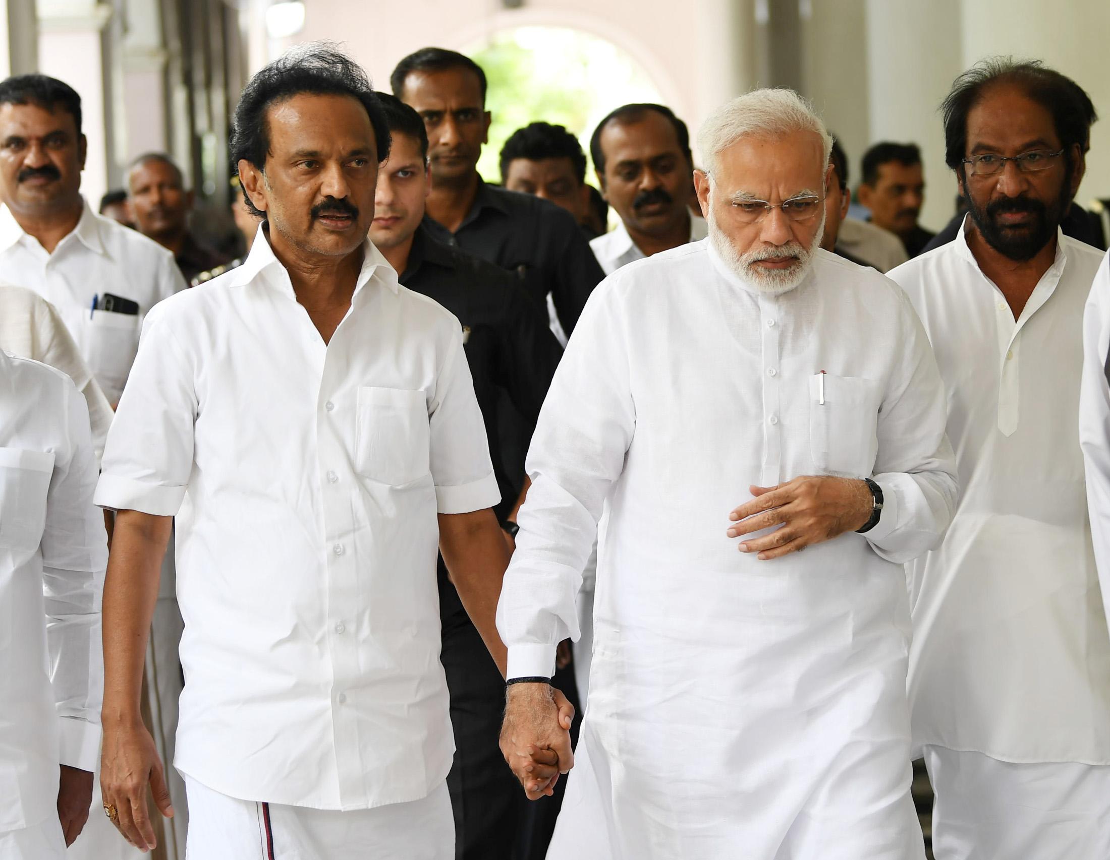 Dravida Munnetra Kazhagam, MK Stalin, DMK, Prime Minister, Narendra Modi, Atal Bihari Vajpyee, BJP, NewsMobile, Mobile, News, India