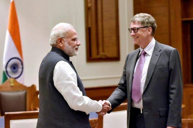 Bill Gates, PM Narendra Modi, Ayushman Bharat Scheme, 100 Days, News Mobile, News Mobile India