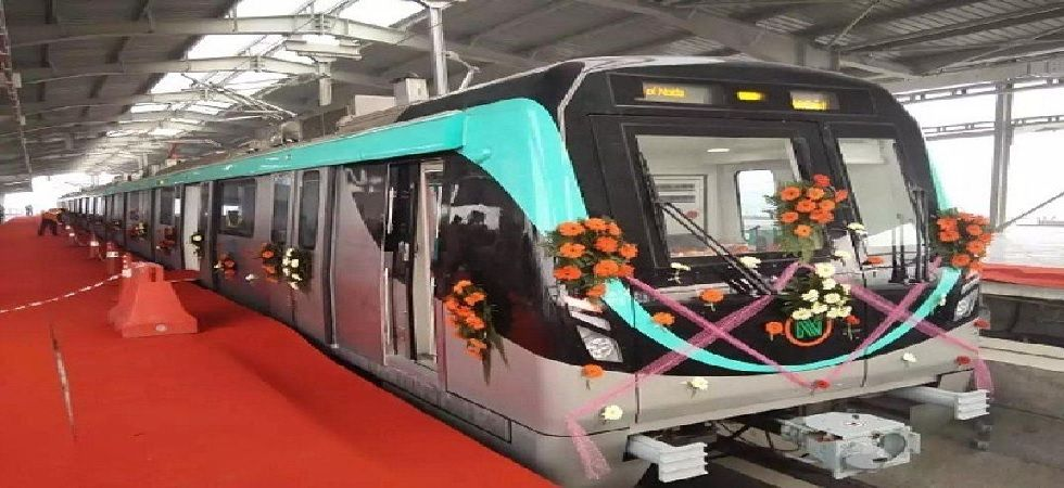 Noida Metro's Aqua Line to start on January 25