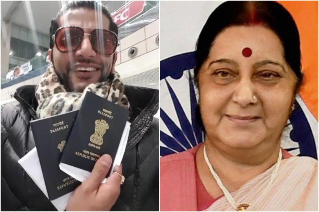Karanvir Bohra, Sushma Swaraj, Moscow, Passport Detained, External Affairs Minister, News Mobile, News Mobile India