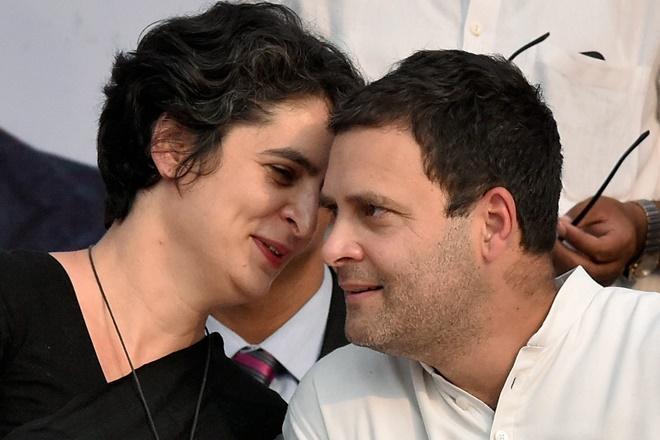 Priyanka Gandhi, Rahul Gandhi, UP East, India, Narendra Modi, BJP, Indian politics, general elections 2019, NewsMobile, Gandhi dynasty, Indira Gandhi, Sonia Gandhi,