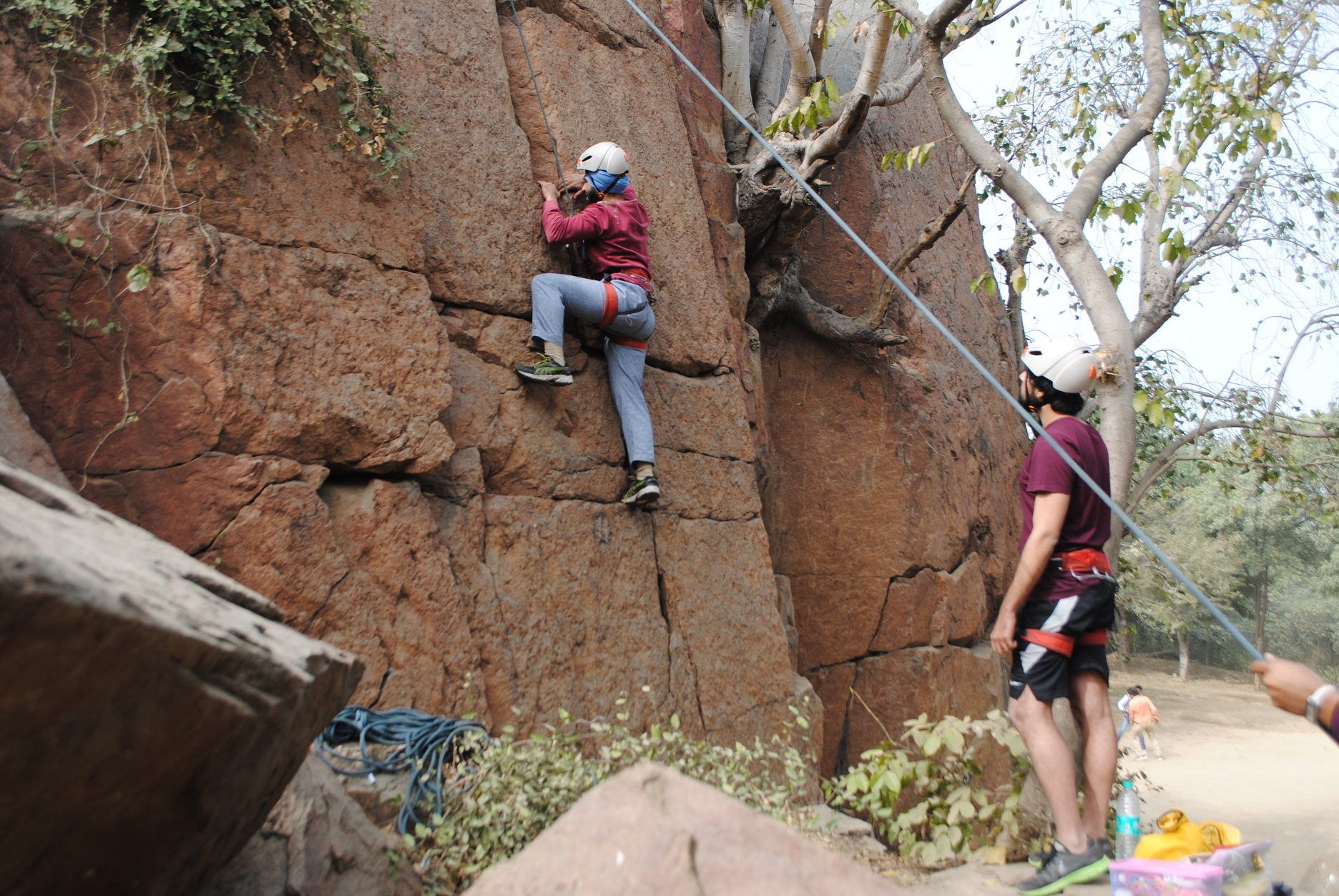 Rock on! Best destinations for rock climbing in India