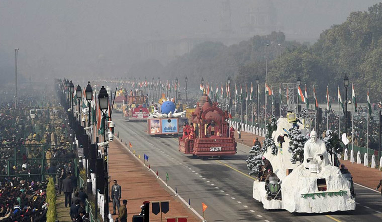 All 22 tableaux will have Mahatma Gandhi as the theme in this year's R-Day parade
