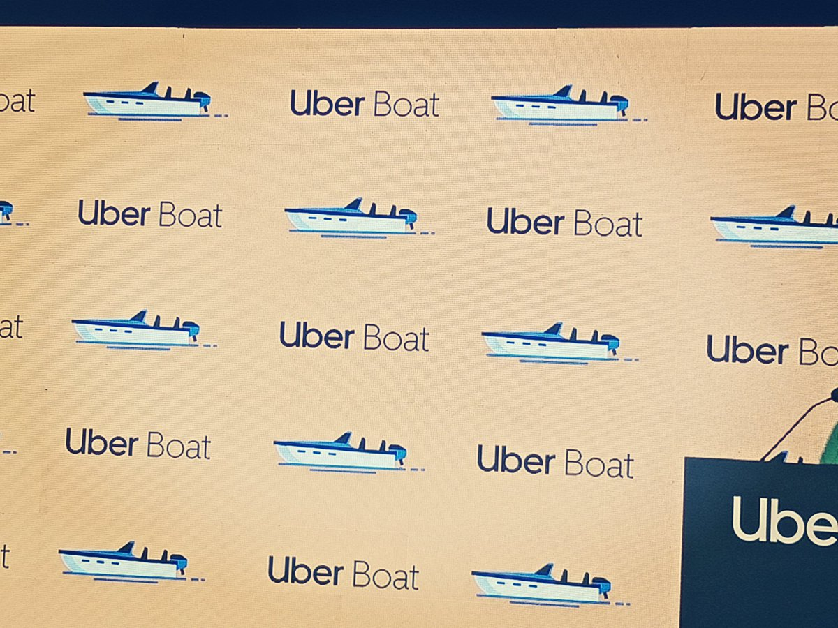 When in Mumbai, Uber on a speedboat