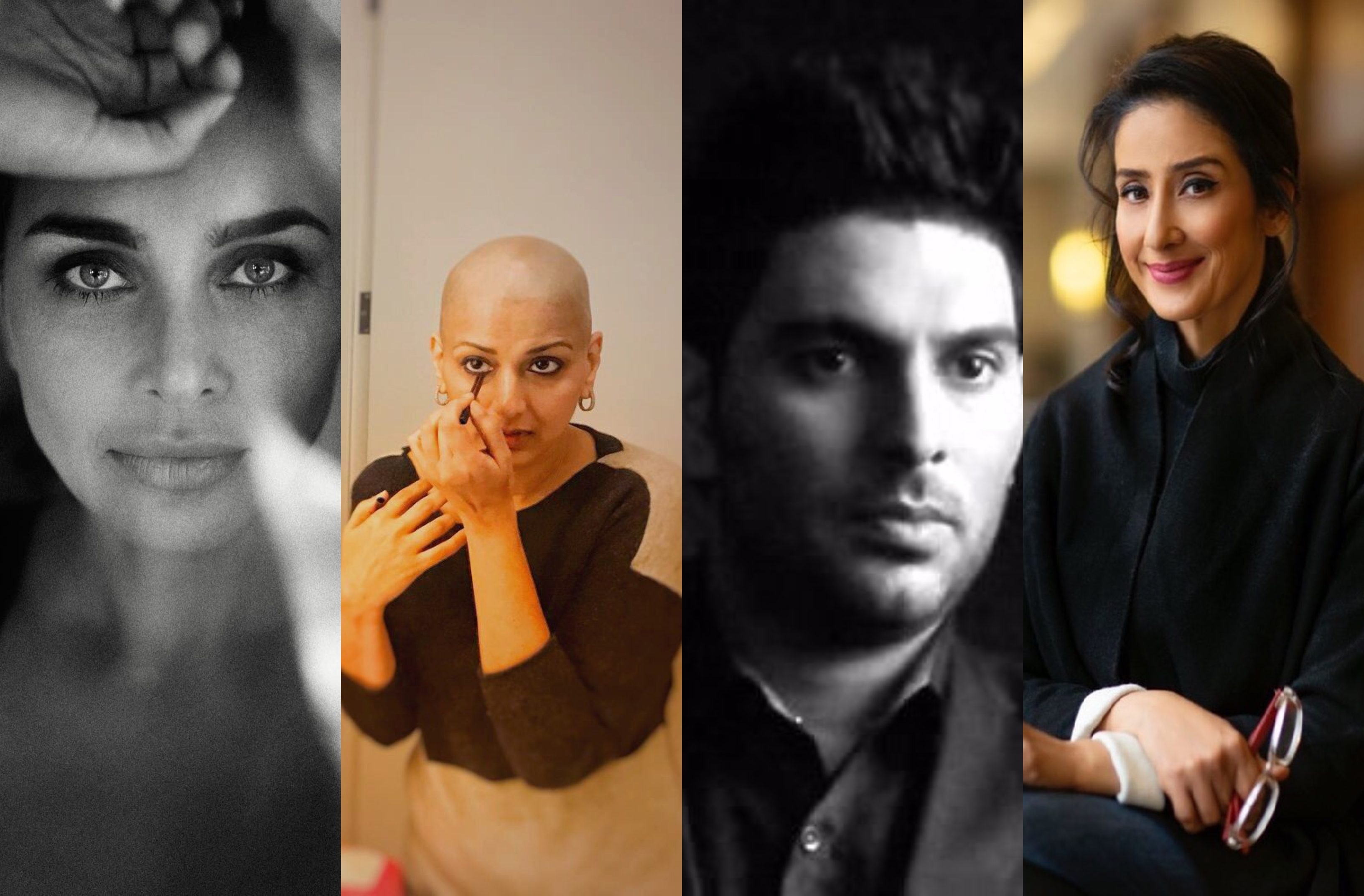 Stories of confidence & strength; Indian celebrities who survived cancer
