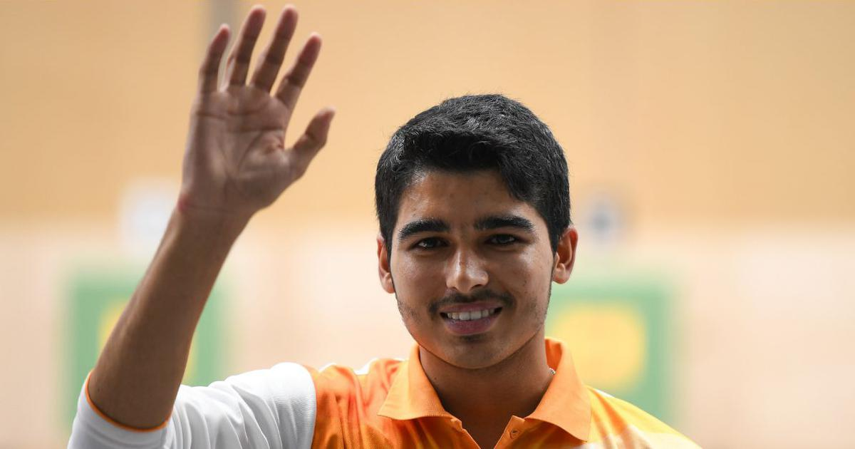 ISSF World Cup, 2019, Saurabh Chaudhary, Wins, Gold, Air Pistol, 10m, News Mobile, News Mobile India