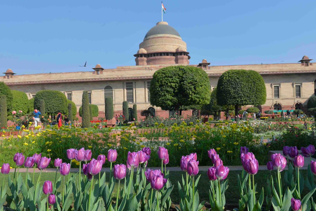 President Ram Nath Kovind, Inaugrates, Mughal Gardens, Rashtrapati Bhavan, News Mobile, News Mobile India