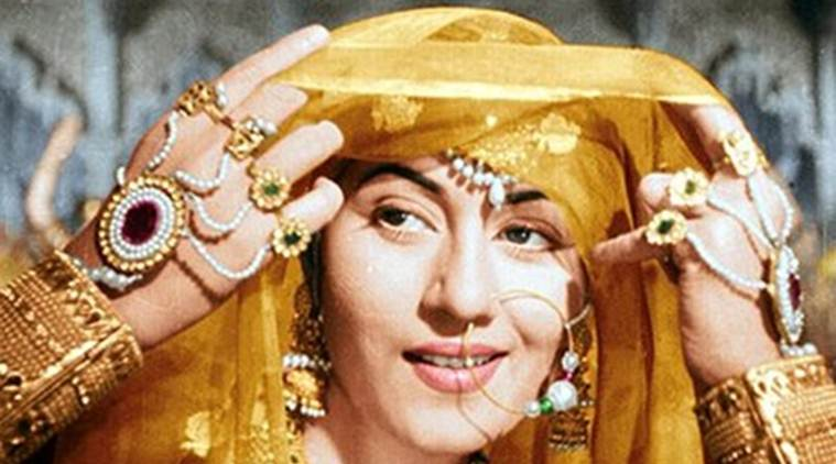 Madhubala as 'Anarkali' in Mughal-e-Azam