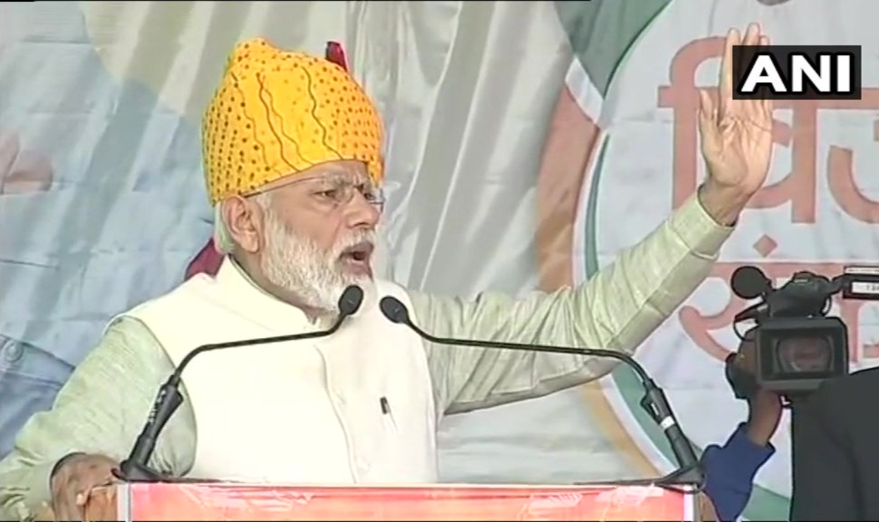 PM Modi in Tonk, Rajasthan