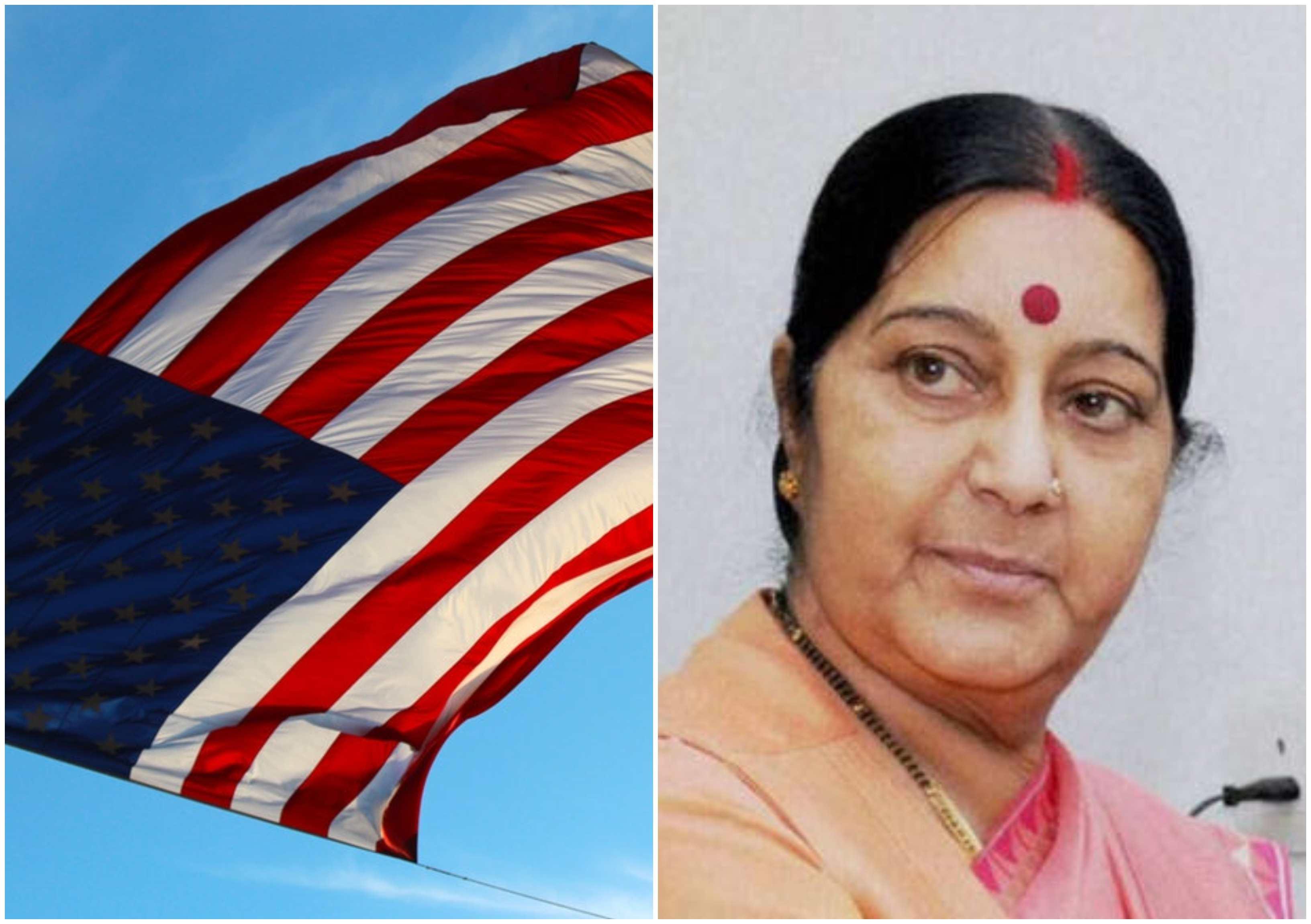129, Indian, Students, United States, Sushma Swaraj, MEA, India