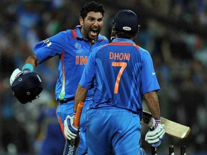 Yuvraj Singh, MS Dhoni, Cricket, Virat Kohli, World Cup, England, 2019, Sports, NewsMobile, Mobile, News , India