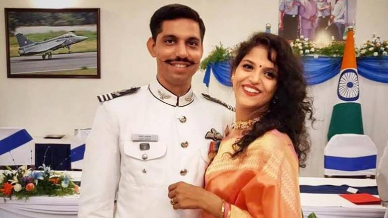 Squadron Leader Samir Abrol , Garima Abrol, Shares post, Martyred, Indian Air Force, News Mobile, News Mobile India