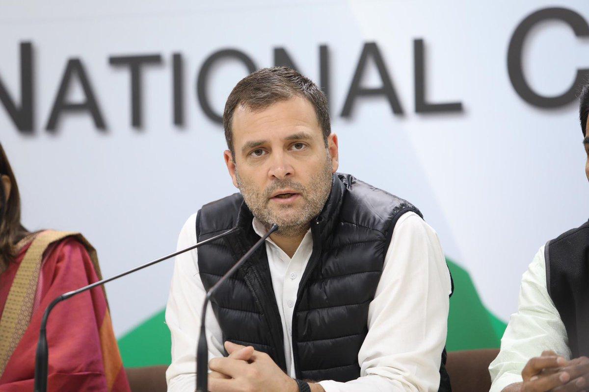 Rahul Gandhi, Congress, President, Prime Minister, Narendra Modi, Presser, Rafale, Deal, NewsMobile, Mobile, News, India