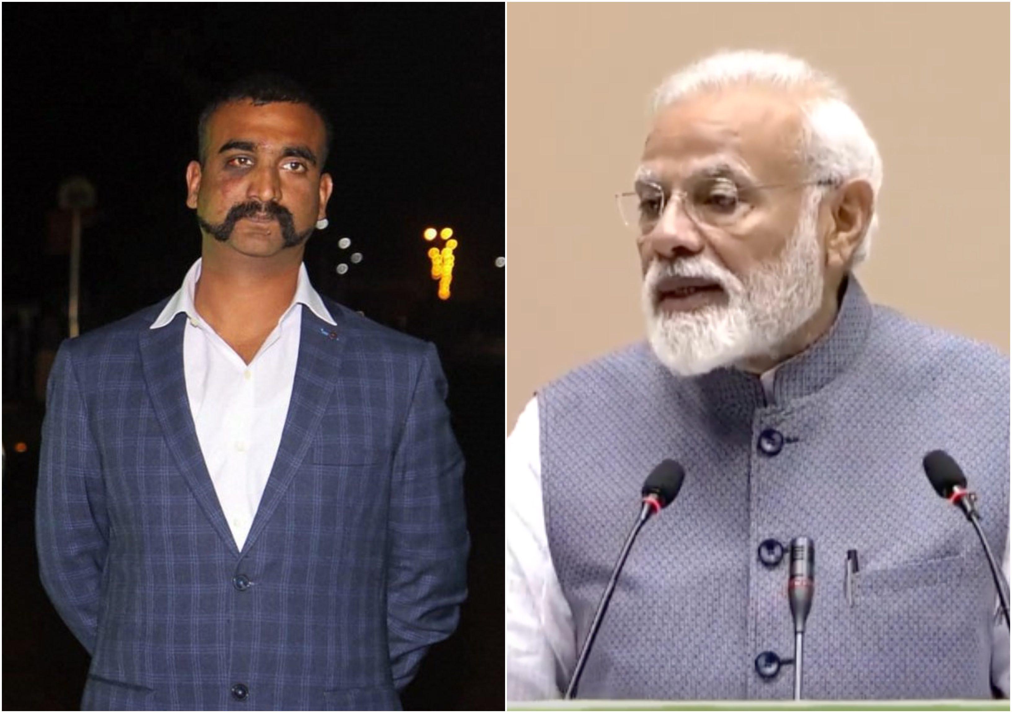 PM Modi, Prime Minister, Narendra Modi, Wing Commander, Abhinandan, NewsMobile, Mobile, News, India