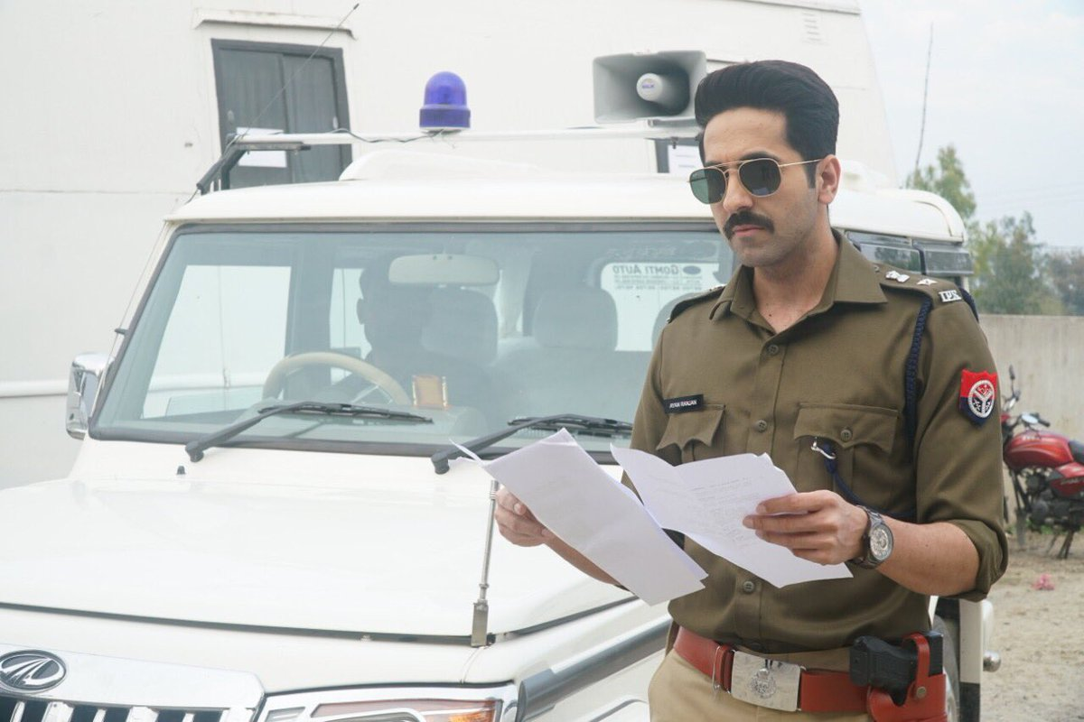 Ayushmann Khurrana, Article 15, Anubhav Sinha, Movie, Poster, News Mobile, News Mobile India