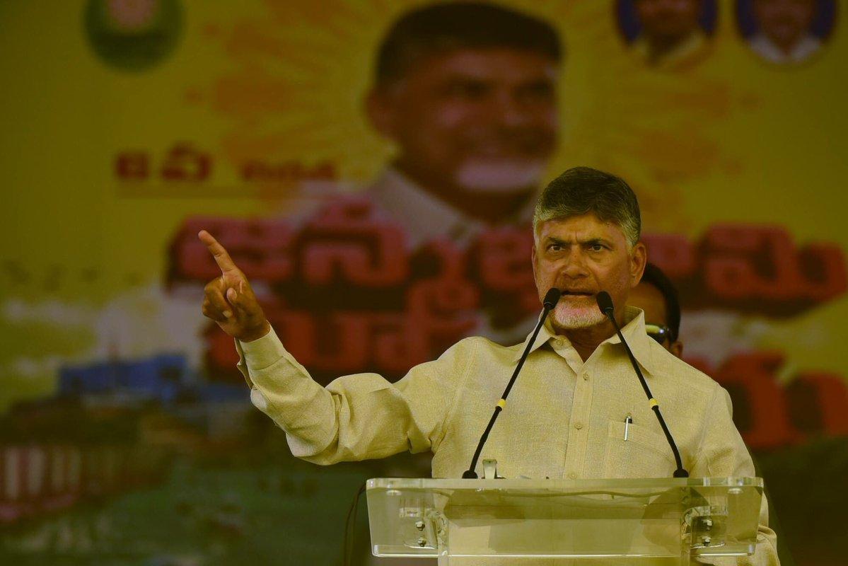N Chandrababu Naidu, Telugu Desam Party, Andhra Pradesh, Tirupati, Lok Sabha Elections 2019, News Mobile, News Mobile India