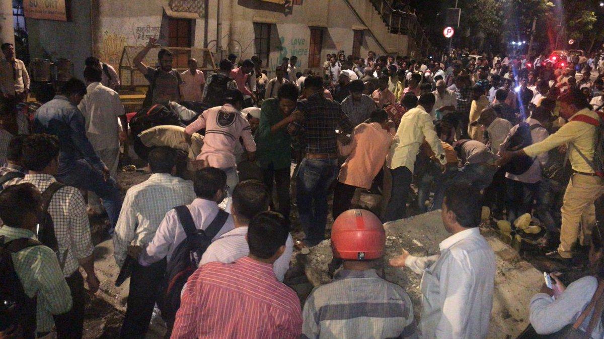 Mumbai, CST Station, Bridge Collapse, 23 Injured, News Mobile, News Mobile India